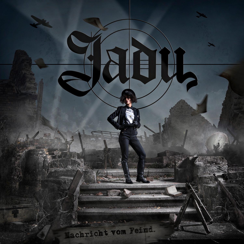 Jadu - Nachricht vom Feind Album Cover © Sebastian Sommerschuh